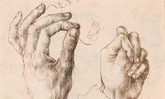 leonardo da vinci drawings study of hands Human Figure Drawing, Life Drawing, Painting & Drawing, Body Sketches, Drawing Sketches, Art Drawings, Albrecht Durer, Hand Drawing Reference, Renaissance Artists