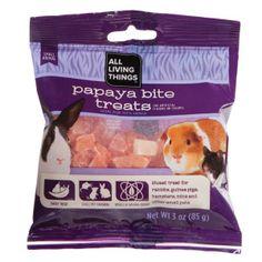 All Living Things® Papaya Bite Small Animal Treat | Treats | PetSmart