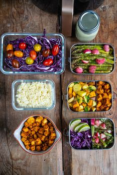 Gesundes 6 Zutaten Meal Prep für Familien - gesund essen - Mrs Flury Vegan Recipes, Beans, Low Carb, Vegetables, Food, Healthy Meals, Health Snacks, Crispy Tofu, Easy Cooking