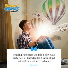 Do you enjoy the magic of opening a book and entering the world of imagination? Every child should know how to read and have books to read. Helen Doron, John Locke, Reading Tips, Literacy, Books To Read, Campaign, Knowledge, Join, Children