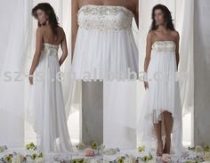 Wedding Gowns For Pregnant Brides - CBS News | Party Dress ...