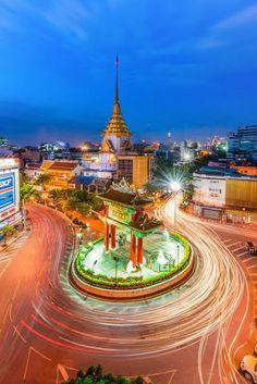 China Town Bangkok, In Night