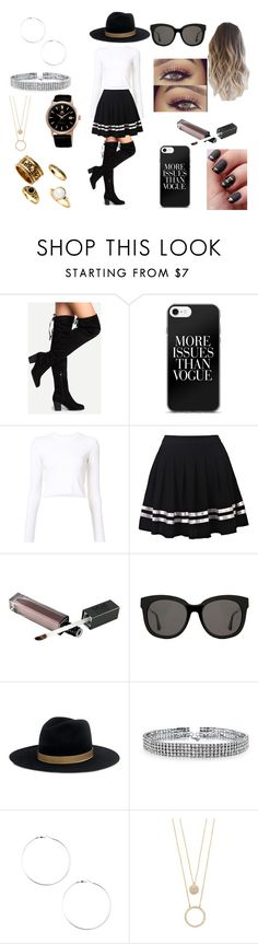 """Fall First Date"" by roxy-crushlings on Polyvore featuring Proenza Schouler, Gentle Monster, Janessa Leone, Bling Jewelry and Kate Spade"