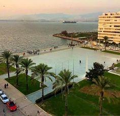 Gün Batımı huzur ne güzelsin İzmir