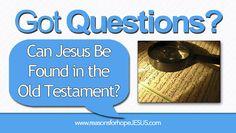 Can Jesus Be Found in Old Testament? Watch an 11 year old boy tell where:  https://reasonsforhopejesus.com/jesus-found-old-testament/
