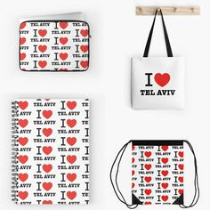 Tel Aviv memorabilia contains the new i ♡ Tel Aviv accessories  with more than 1000 fashionable item combinations. You're welcome to visit the Tel Aviv showcase at: http://ron-shoshani.pixels.com