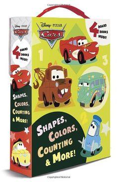Shapes, Colors, Counting & More! (Disney/Pixar Cars) (Friendship Box) by RH Disney http://www.amazon.com/dp/0736431055/ref=cm_sw_r_pi_dp_1qCNtb0P9YW73A8C