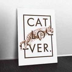 Quadro Cat Lover CA8581