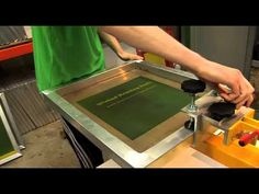 Home made PCB by the method of screen printing - YouTube