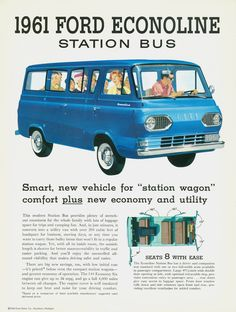All sizes | 1961 Ford Econoline Station Bus | Flickr - Photo Sharing!