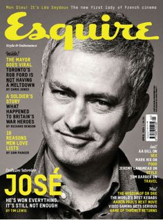 Esquire gets up close and personal with the mercurial Chelsea manager Rob Ford, Esquire Uk, Love List, Make Millions, Blue Bloods, Love Affair, Man In Love, Shit Happens, Cover