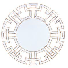 Baxton Studio Ulmer Contemporary Round Accent Wall Mirror with Golden Trim - Overstock Shopping - Great Deals on Baxton Studio Mirrors