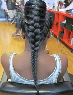 Long, beautiful braid