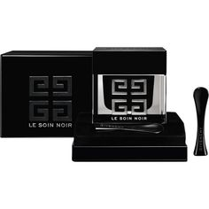Givenchy Beauty Le Soin Noir Face Cream (41310 RSD) ❤ liked on Polyvore featuring beauty products, skincare, face care, face moisturizers, colorless, face moisturizer and givenchy