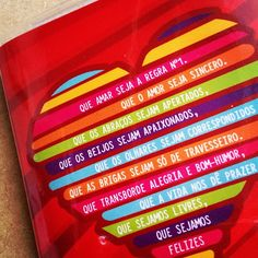 Que amar seja a regra nº1
