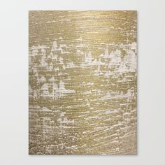 """Fine art print on bright white, fine poly-cotton blend, matte canvas using latest generation Epson archival inks. Individually trimmed and hand stretched museum wrap over 1-1/2"""" deep wood stretcher bars. Includes wall hanging hardware. #abstractart #wallart #canvas #gold"""