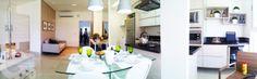 Apartamento 2 Quartos Decorado Terra Mundi Parque Cascavel - Living 180º