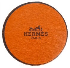 Leather coasters  hermes
