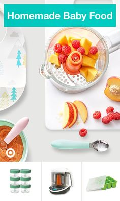 Take the mess out of homemade baby food with products like a baby food maker and smart storage solutions. Take the mess out of homemade baby food with products like a baby food maker and smart storage solutions. Baby Food Storage, Smart Storage, Toddler Meals, Kids Meals, Fresh Food Feeder, Baby Food Makers, Healthy Baby Food, Baby Puree, Homemade Baby Foods
