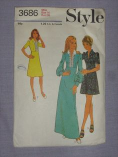 Find everything but the ordinary Modern Vintage Fashion, Vintage Style, Silk Wool, Vintage Sewing Patterns, Pattern Fashion, The Ordinary, Dressmaking, Size 14, Vintage Ladies