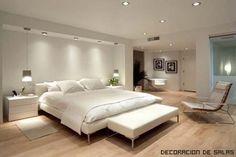 dormitorio blanco moderno                                                       …