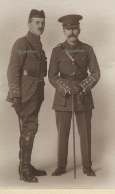 RAMC Capt Surgeon Will Sampson & Jack Handley Medical Corps soldiers photo