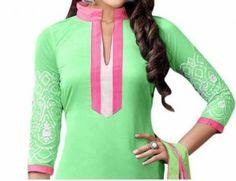 Punjabi Suit Neck Images Salwar Kameez Back Gala Designs