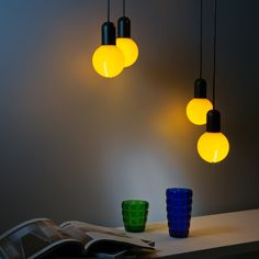 Suspension de silicone O! par Martinelli Luce conception DesignLab