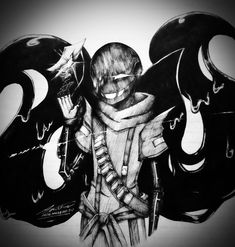 image Undertale Drawings, Undertale Au, Batman, Museum, Ink, Album, This Or That Questions, Fictional Characters, Outfits