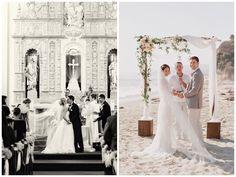 ¿Ceremonia religiosa o ceremonia civil? Solución: doble boda!