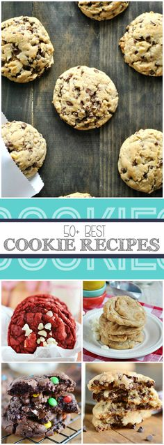 50+ Cookie Recipes