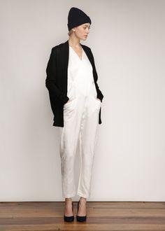 Zero + Maria Cornejo Rio Jumpsuit (White).1.