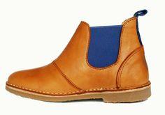 De Vries Nr.7 Chelsea Boots Cognac - A Day with Kate