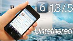 Cómo Hacer Jailbreak Untethered a iPad y iPhone con iOS 6.1.3 – 6.1.5 – p0sixspwn