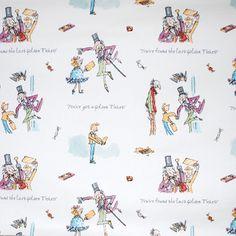 Golden Ticket - £12.95 per metre from Kids Fabrics Online Shop