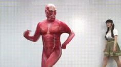 dancing man wtf japan attack on titan