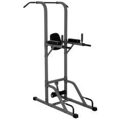XMark VKR Vertical Knee Raise with Dip and Pull-up Station Power Tower (Gray or White) *** Learn more by visiting the image link. (This is an affiliate link and I receive a commission for the sales) Pull Up Station, Dip Station, Pull Up Bar, Power Tower, Home Gym Equipment, No Equipment Workout, Fitness Equipment, Exercise Bike Reviews, Pull Up