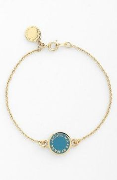 Amazon.com: MARC BY MARC JACOBS 'Classic Marc' Disc Line Bracelet: Jewelry