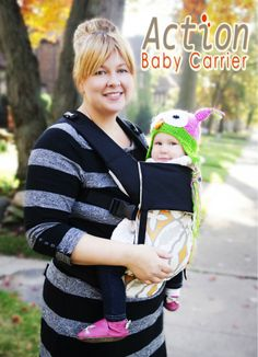 Review on Action Baby Carrier #baby #moms #babywearing