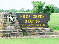 Rock Creek Station. My Dad has some of his art work displayed there.  Buffalo and Indian on horseback out on the prairie.