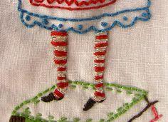 stripey tights