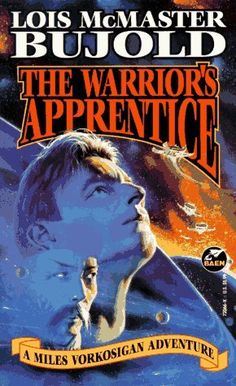 The warrior's apprentice by Lois McMaster Bujold.