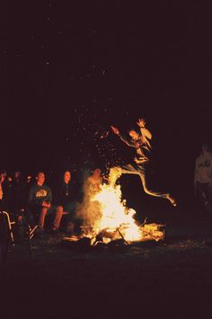 young, wild and free | wildfire | reckless | rebels | campfire | fire | jump | leap of faith | www.republicofyou.com.au