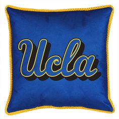 Use this Exclusive coupon code: PINFIVE to receive an additional 5% off the UCLA Bruins Sidelines Toss Pillow at SportsFansPlus.com