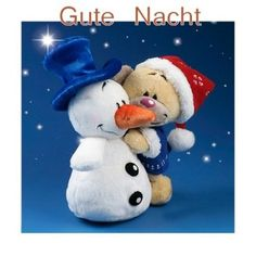 Good Night Image, Good Morning Good Night, 2 Advent, Night Wishes, Smurfs, Xmas, Christmas, Teddy Bear, Animation