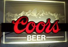 1000 Images About Coors Signs On Pinterest Coors Light