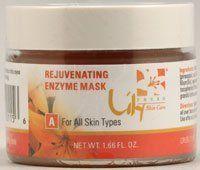 Rejuvenating Enzyme Mask by Lily Organics Mini Portable 24k Gold Ion Vibration Vibrational Microcurrent Facial Lifting Massager Beauty Device