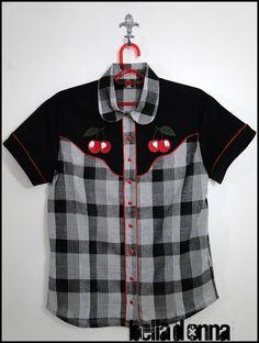 Lojabelladonna: Camisa Feminina Sheridan