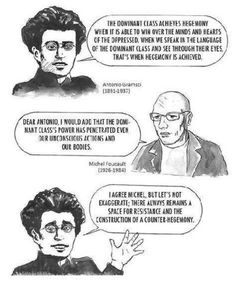 Gramsci and Foucault two brilliant social-political theorists