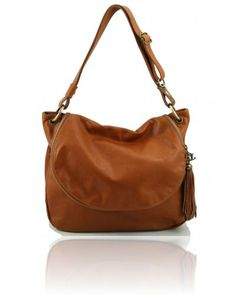 Tl Bag Soft Leather Shoulder With Tassel Detail Borsa Morbida A Tracolla Con Na Avalina Handbags Australia
